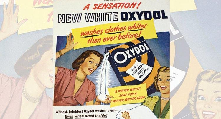 "Source: ""Oxydol Ad"", Women's Journal"